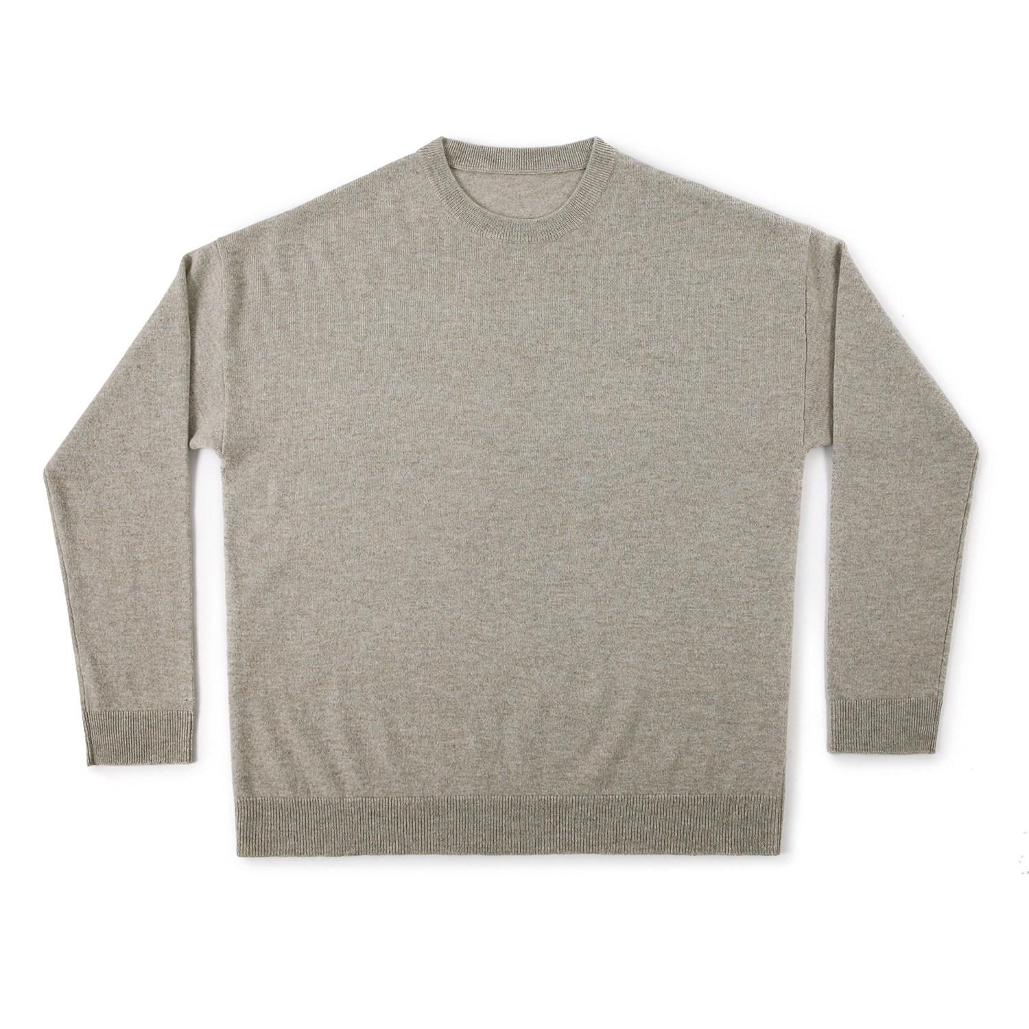 25%OFF_Cashmere100 Oversized Knit (Oatmeal)