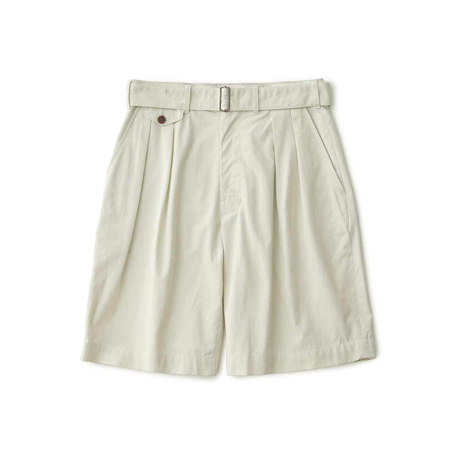 25% OFF_HEMINGWAY BELTED SHORTS (Coconut)