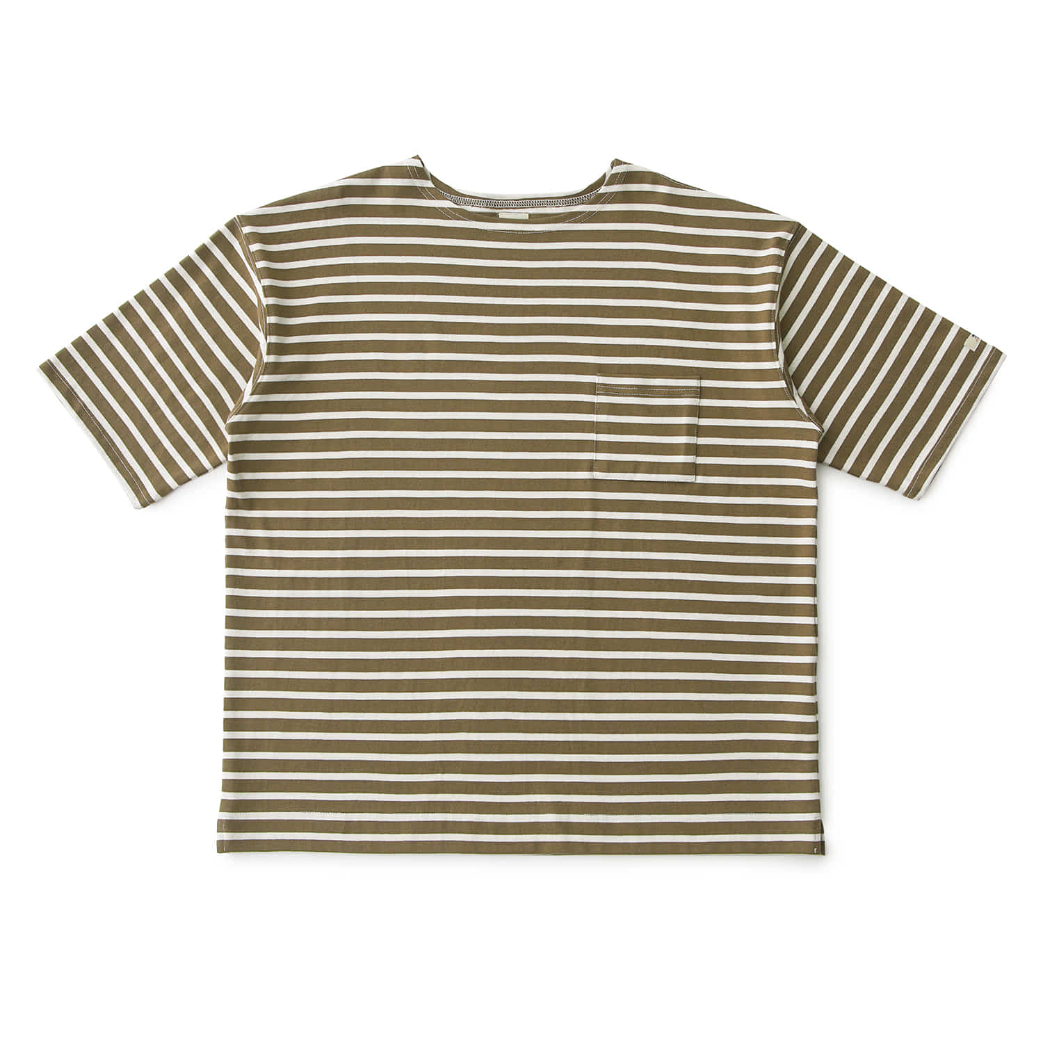 25% OFF_VISTA OVERSIZED BASQUESHIRT (Khaki/Ecru)