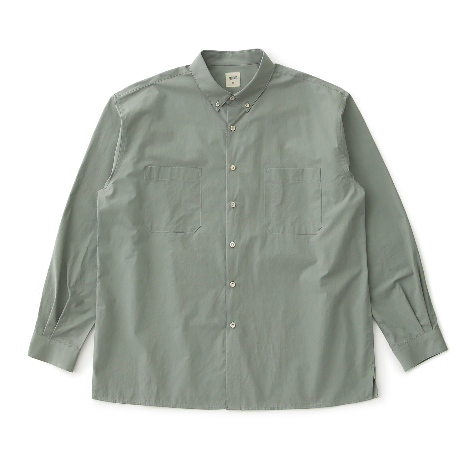 Proper Oversized Shirt (Sage Grey)