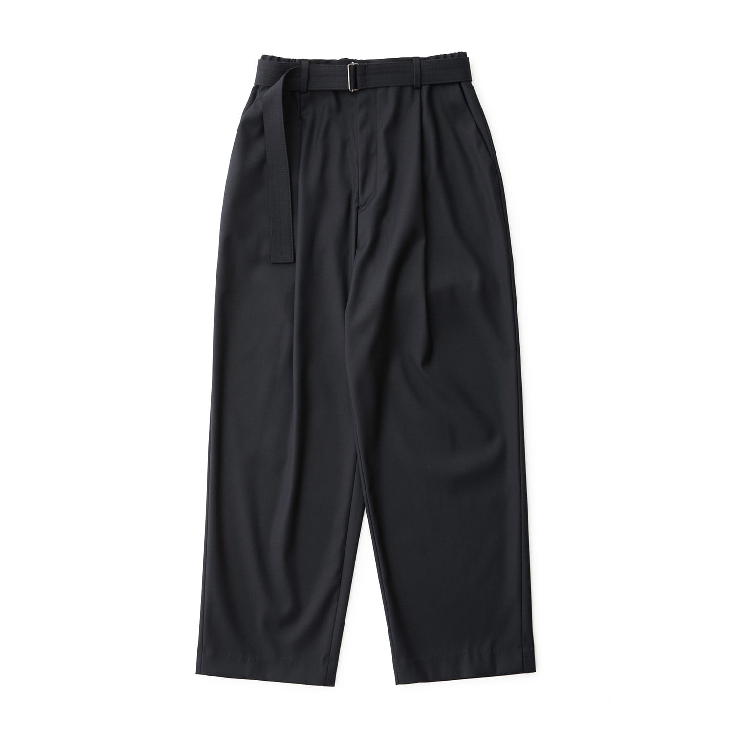 Calm Banded Pants (Dark Navy)