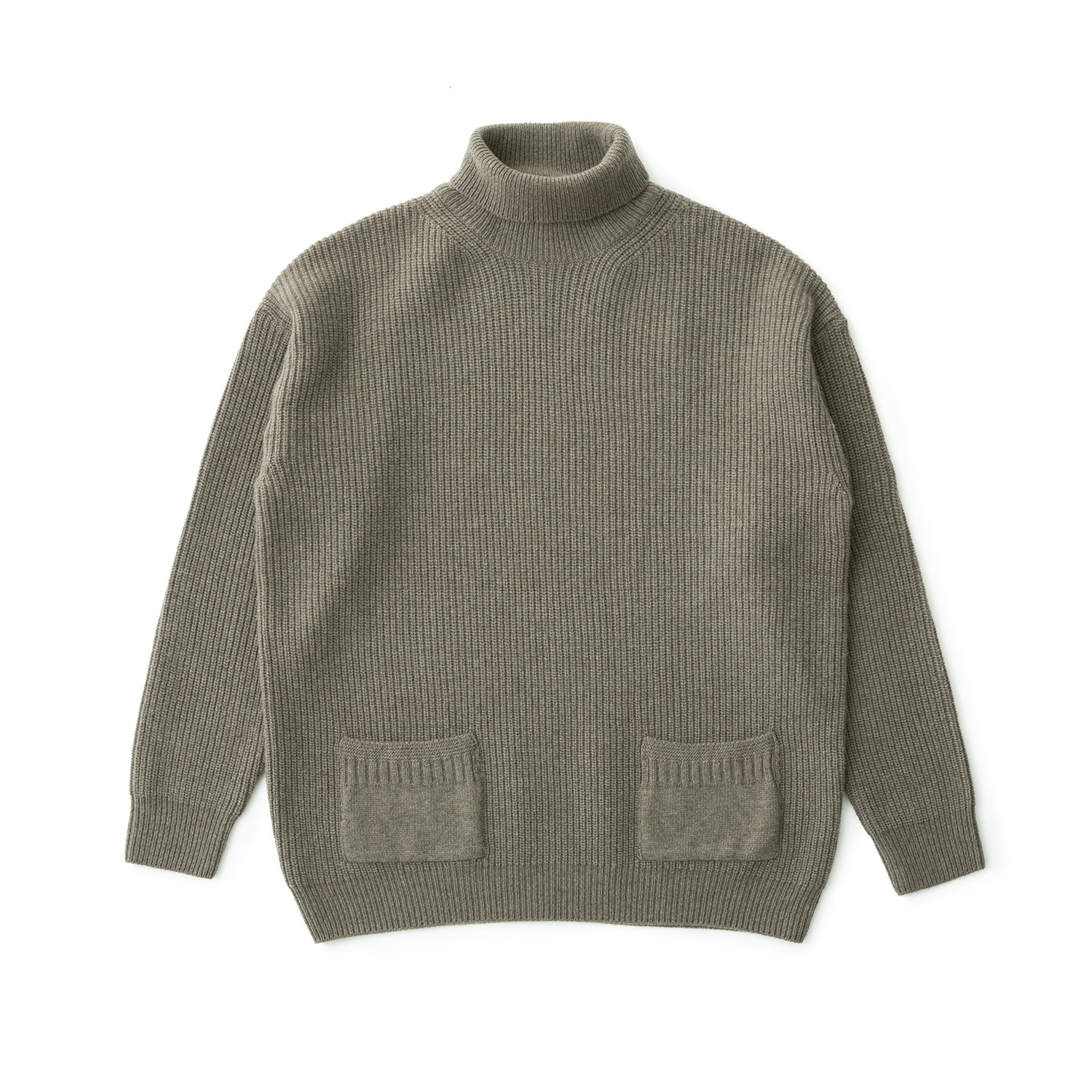 Ample Cashmere Turtleneck Pullover (Dovetail)