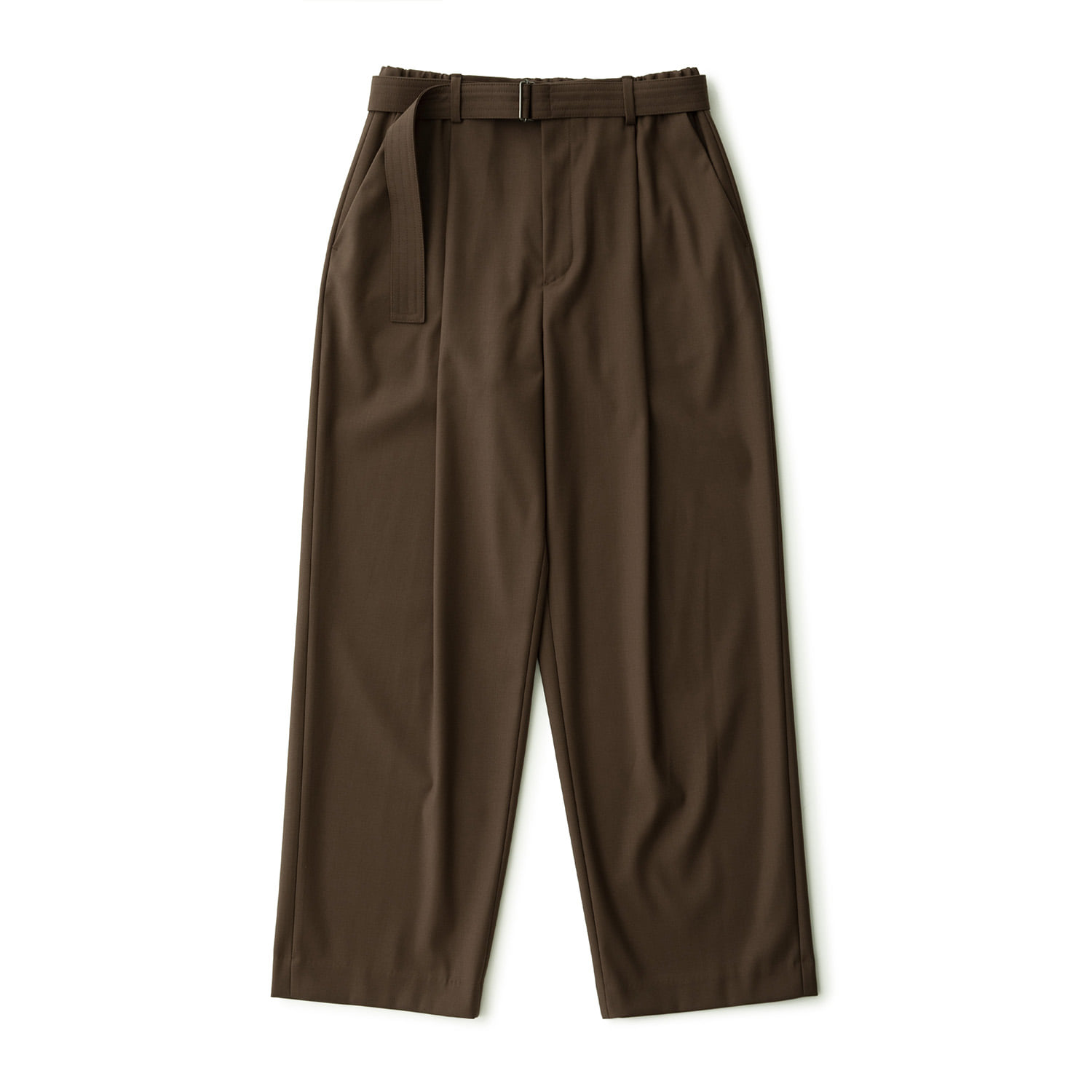 Calm Banded Pants (Taupe Brown)