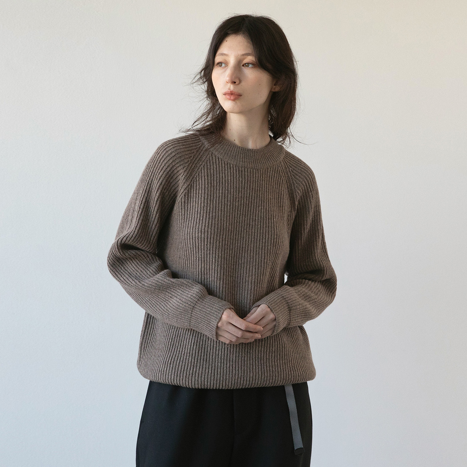 Women Fisherman Pullover (Mink)