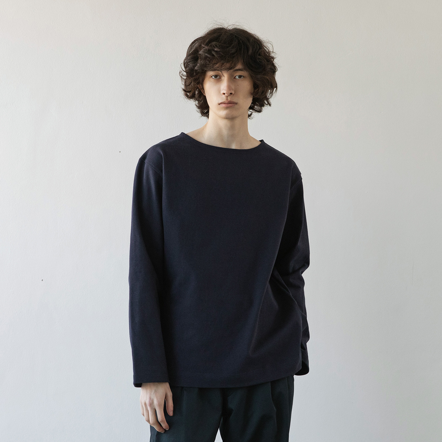 Upright Basqueshirt (Navy)