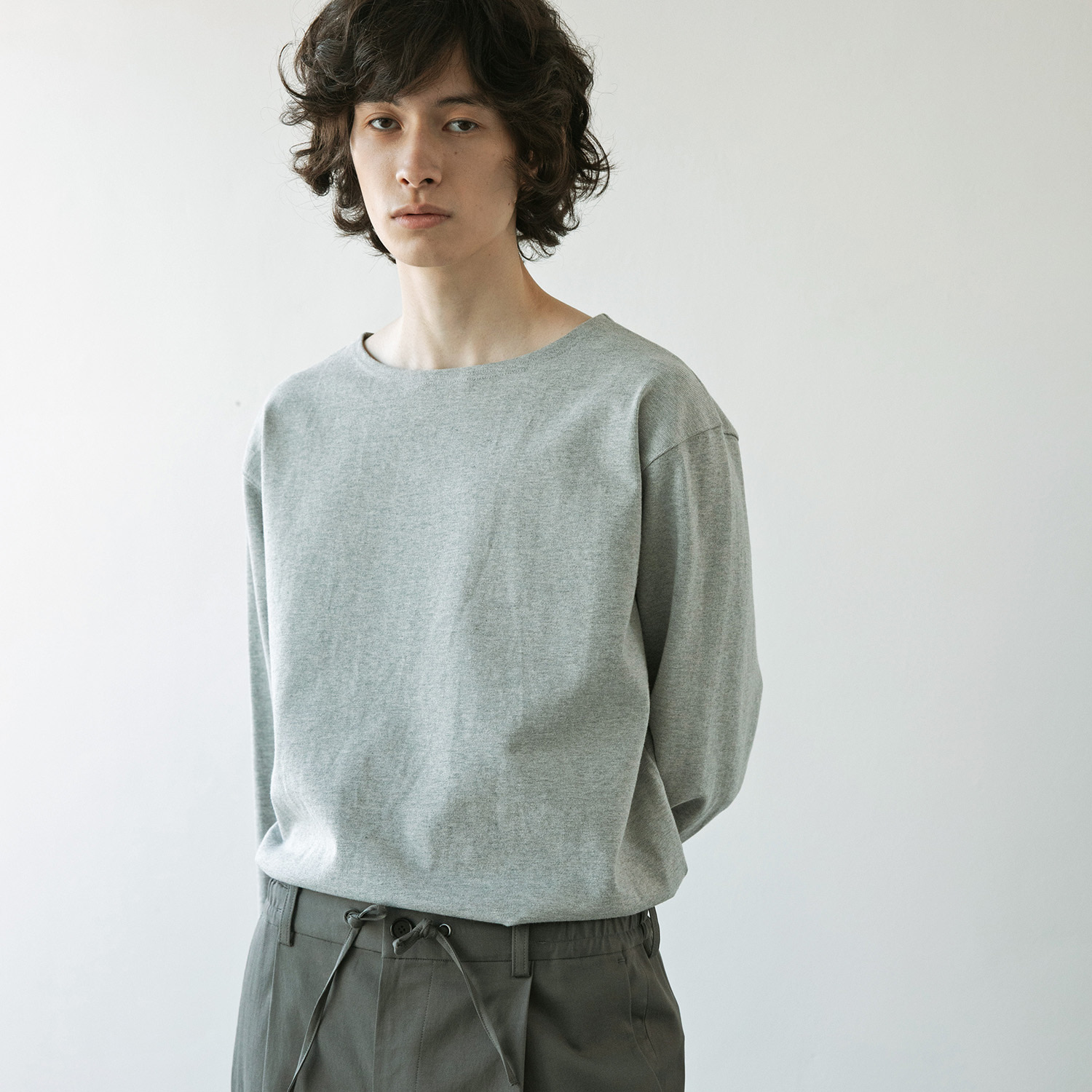 Upright Basqueshirt (Heather Gray)