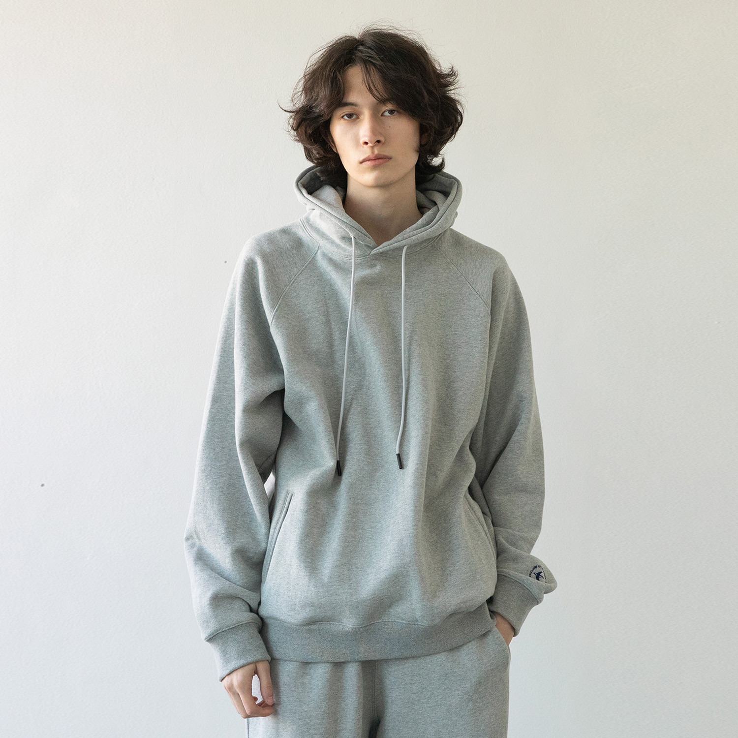 21SS Swallow Gymnasium Hoodie (Heather Gray)
