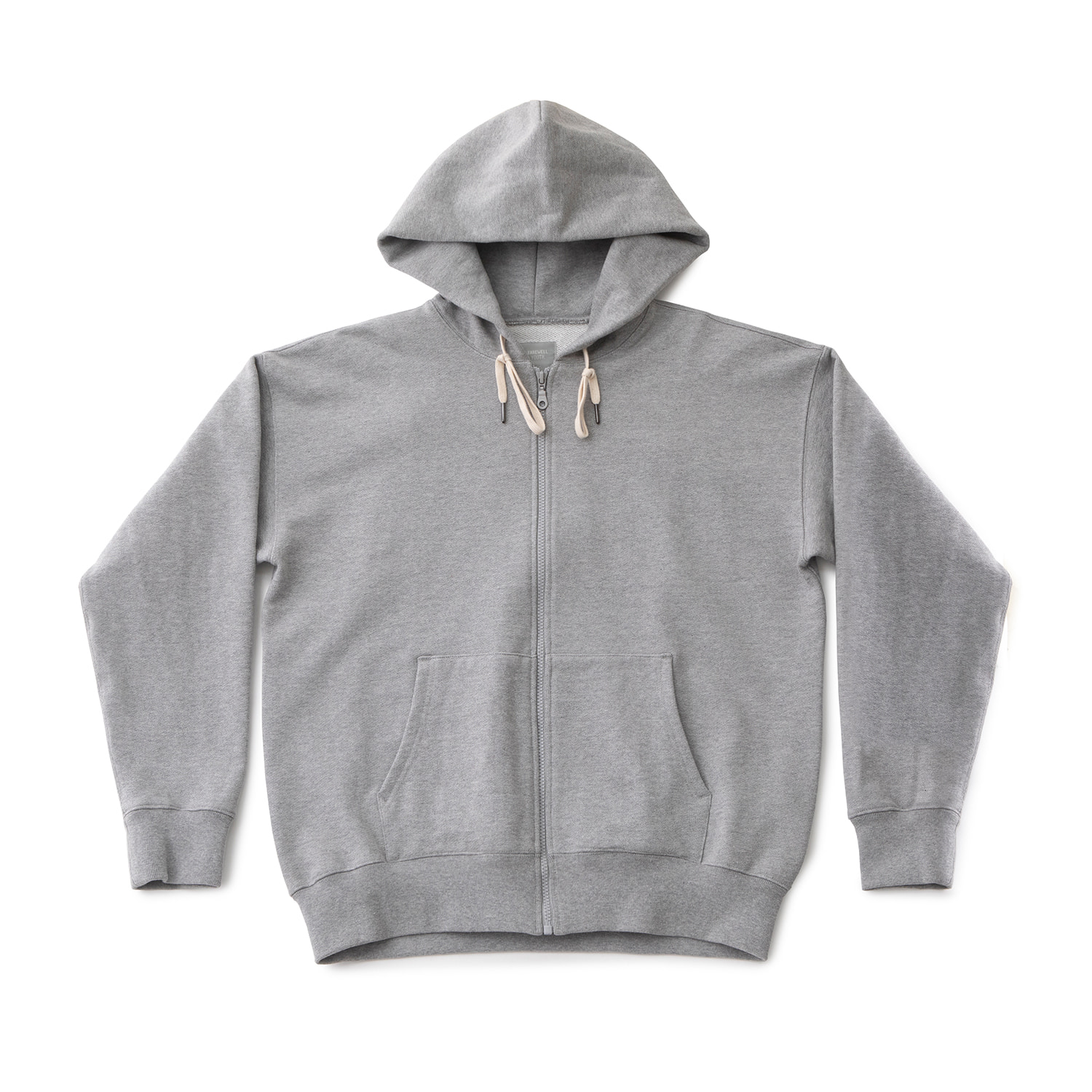 Upright Hood Jacket (Heather Grey)