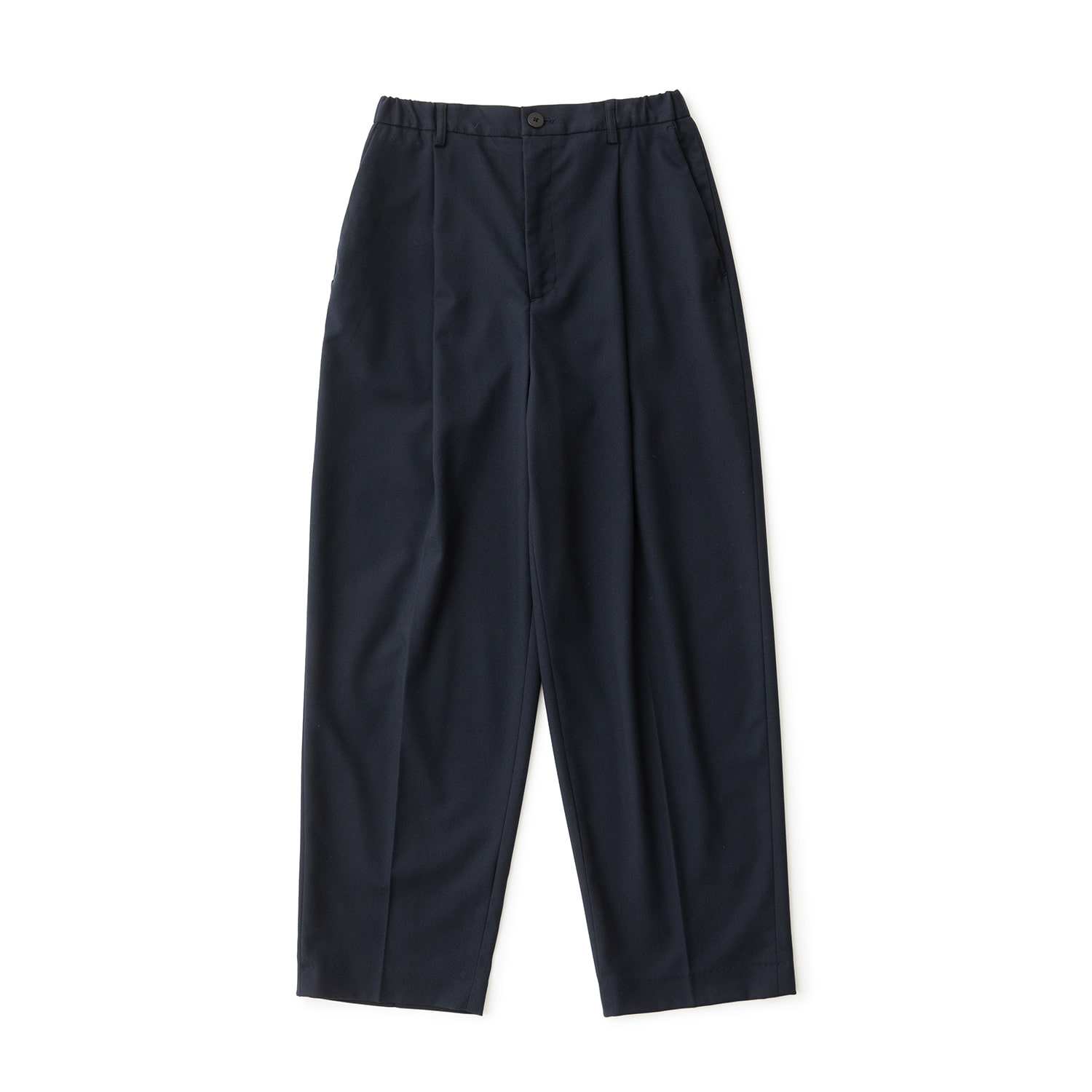 Calm Banded Pants (Navy)