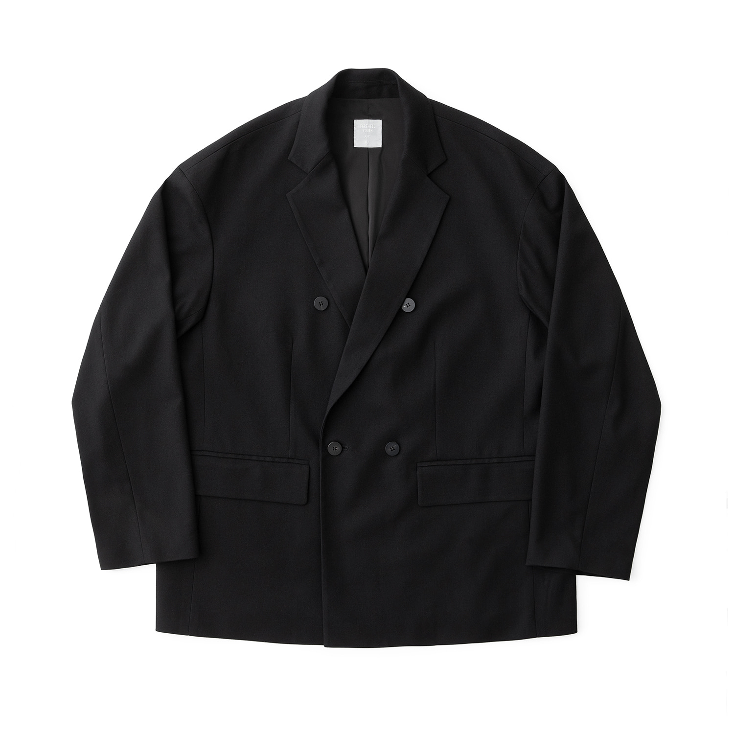 Calm Double Jacket (Black)