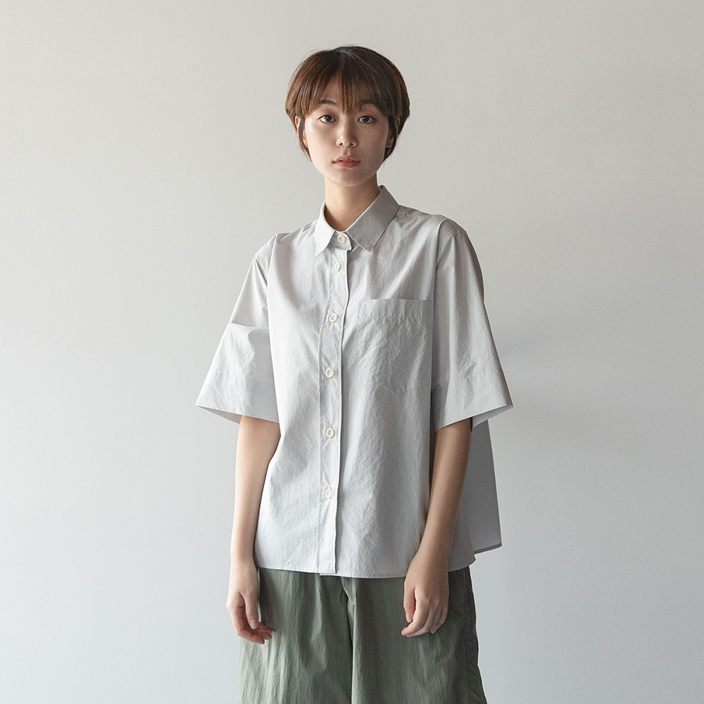 [재생산중]Women Reporter Shirt (Dove Gray)_7/30~8/3 재입고
