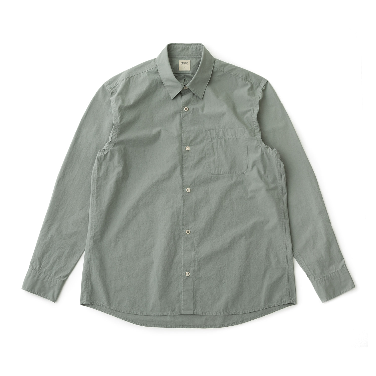 Downtown Shirt (Sage Gray)