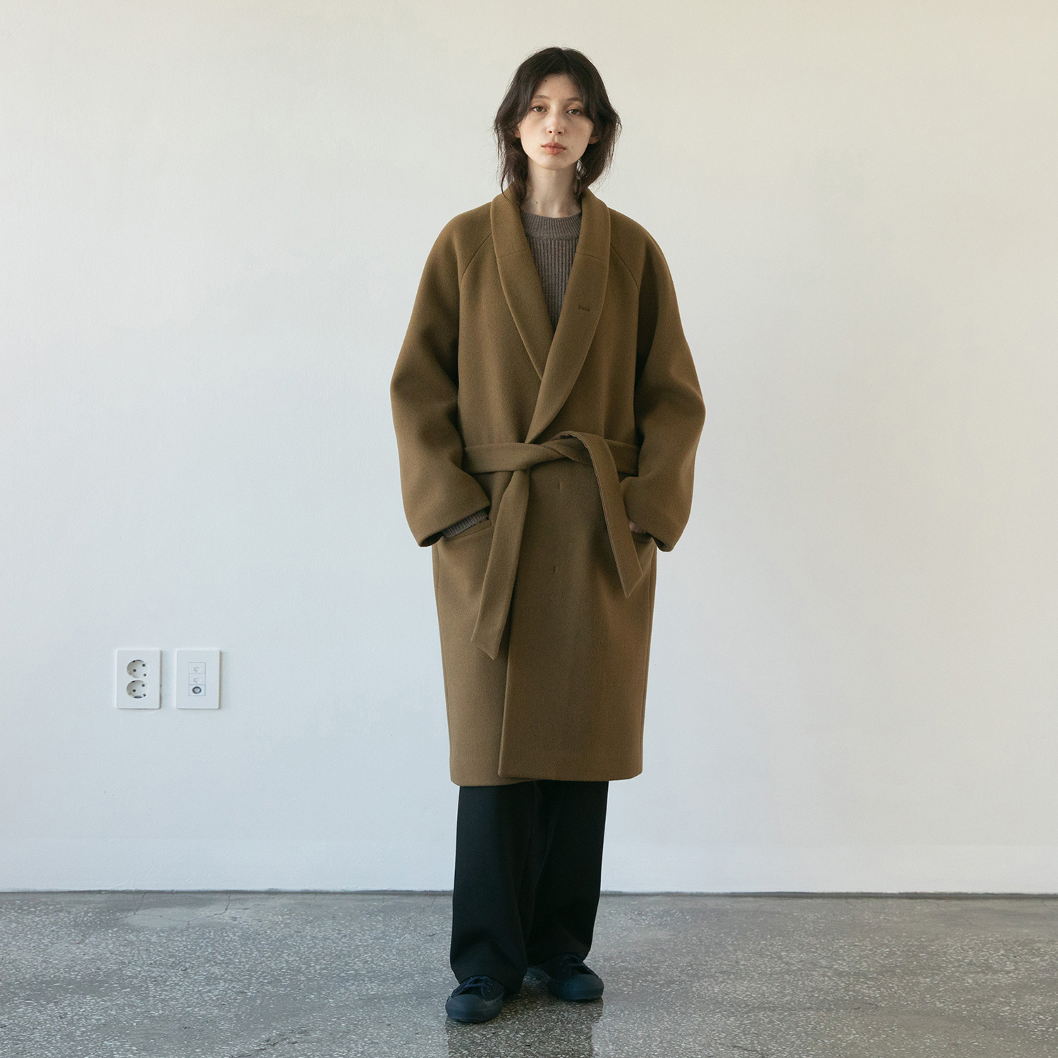 Women Morningcalm Robe Coat (Mocha)