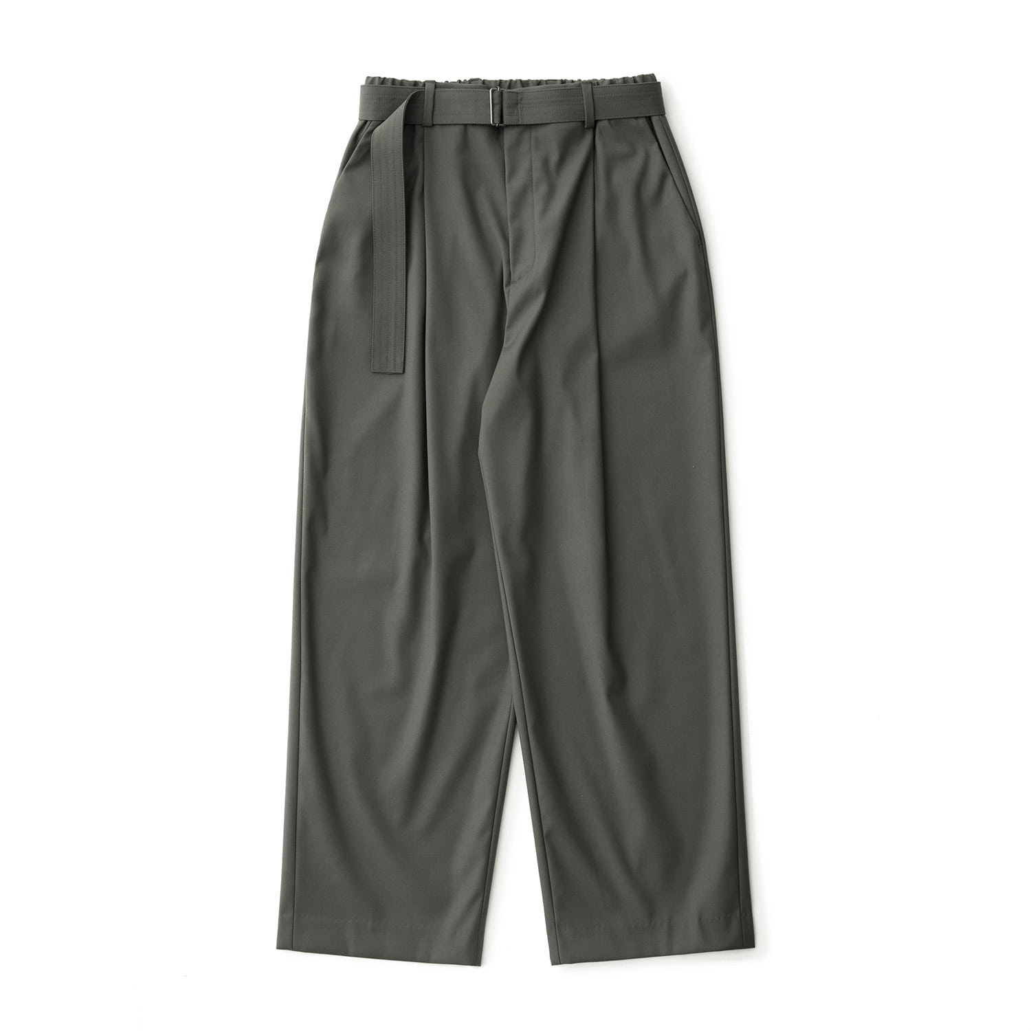 [재입고] 21SS Calm Banded Pants (Olive Gray)