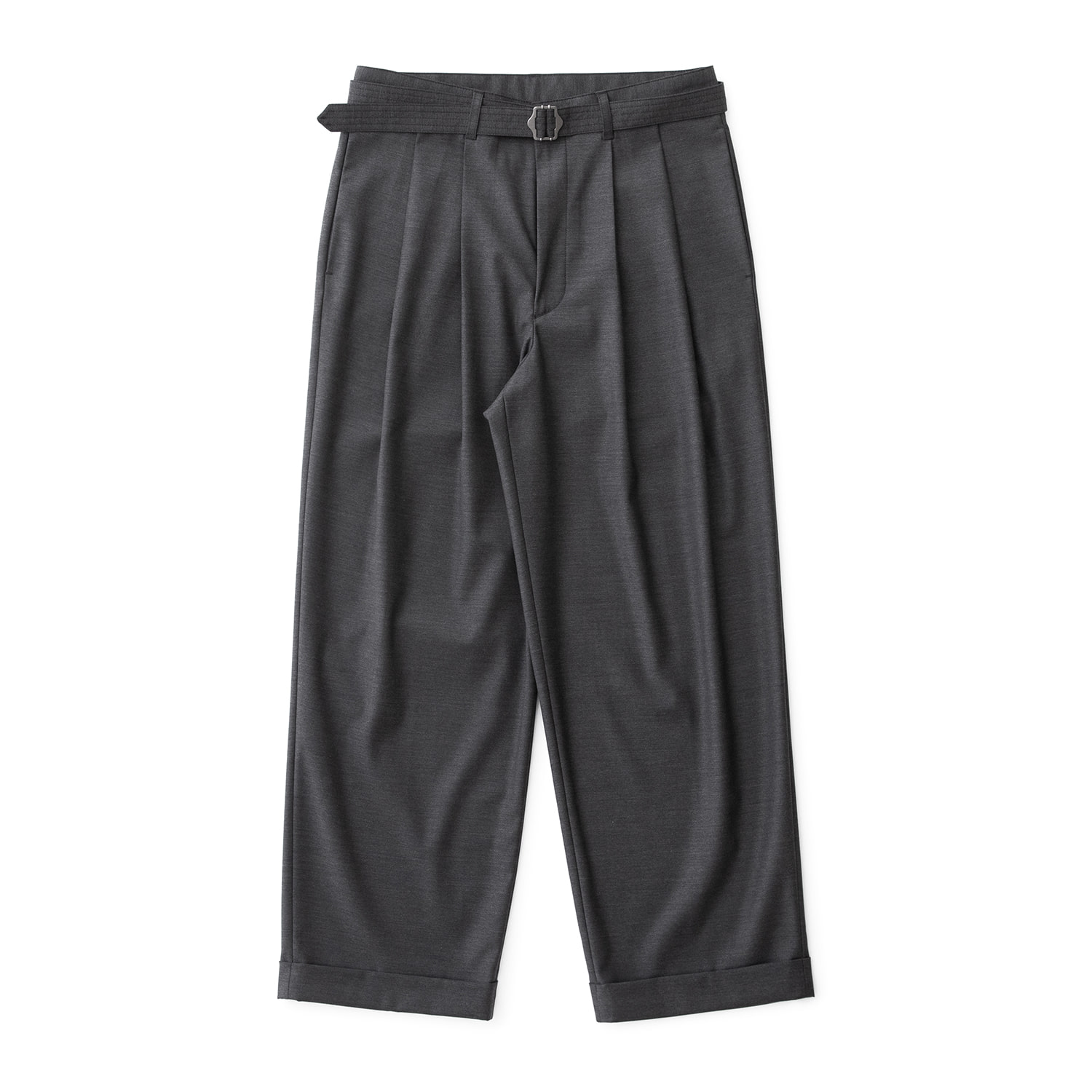 21SS Balance Turn Up Pants (Heather Charcoal)